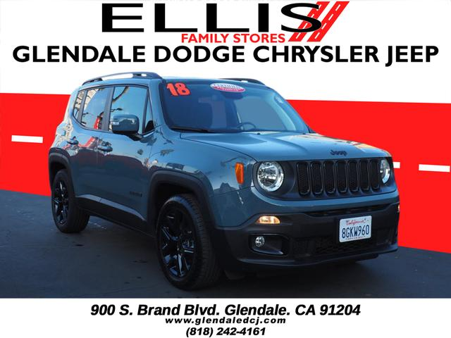Pre-Owned 2018 Jeep Renegade Altitude