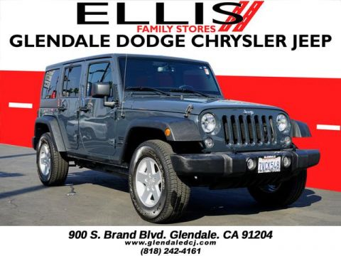 Pre-Owned 2016 Jeep Wrangler Unlimited Sport S