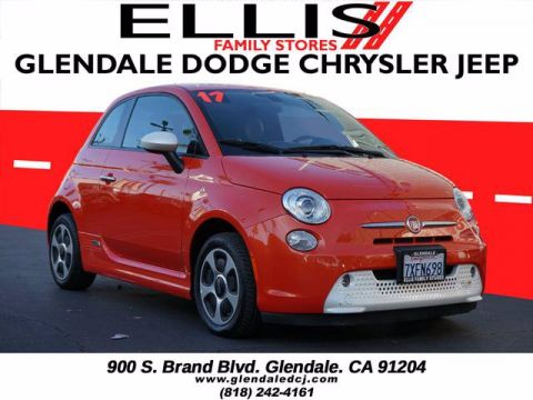 Pre-Owned 2017 FIAT 500e Base